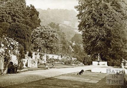 Gardens, Widcombe Manor c.1910