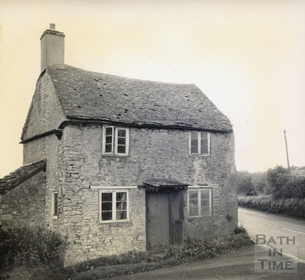 Cottage on the site of the turnpike gate at Leighton near East Cranmore c.1950s