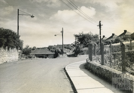 The old Fosse Way at Clandown c.1950s