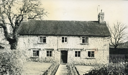 Anne Smith's Cottage at Kilmerston c.1950s
