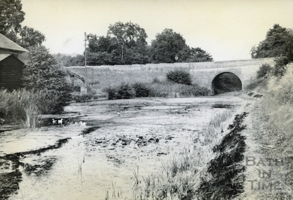 The Kennet and Avon Canal near Savernake c.1950