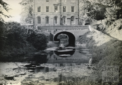 Cleveland House, Kennet and Avon Canal, Sydney Gardens, Bath c.1950
