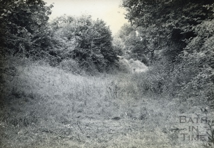 Canal bed at Wellow c.1950s