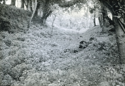 Canal bed at Orchardleigh c.1950s