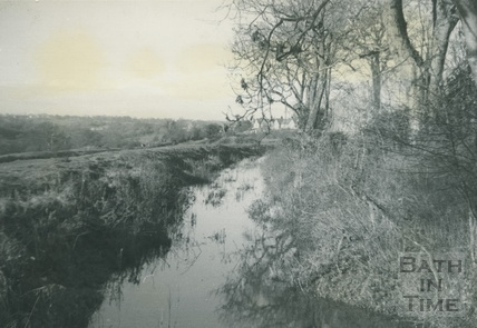 Canal and bridge above Vobster c.1950s