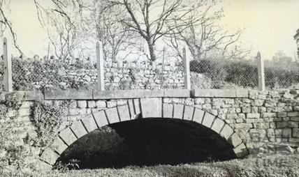 Bridge at Upper Vobster c.1950s