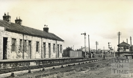 Priory Road station at Wells c.1950s
