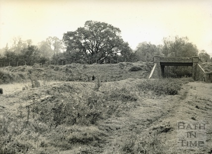 Paulton Halt at Goosard Bridge c.1950s