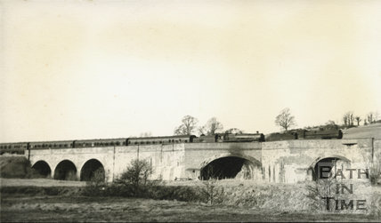 The Five Arches viaduct near Radstock c.1950s