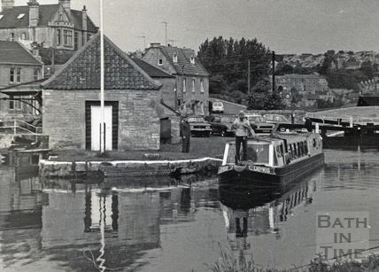 The restored wharf, Bradford-on-Avon c.1980?