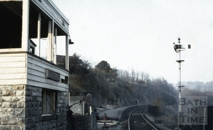 Midford Signal Box October 1967