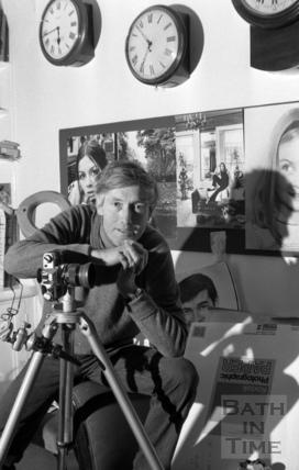 Photographer Bryan Heseltine 31 January 1978