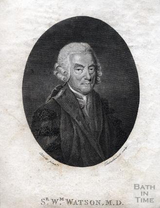 Sir William Watson M.D. (1715 - 10 May 1787)