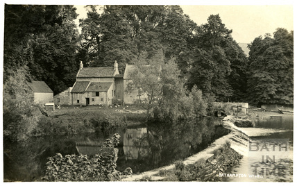 Bathampton Mill and Weirs c.1910