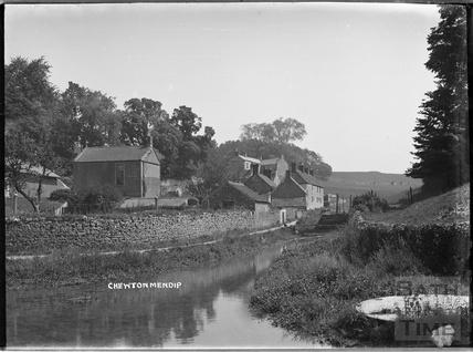 River scene, Chewton Mendip c.1930s