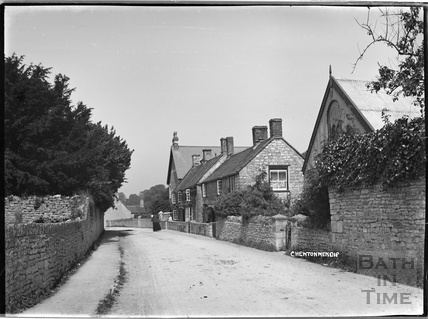 Village lane in Chewton Mendip c.1930s