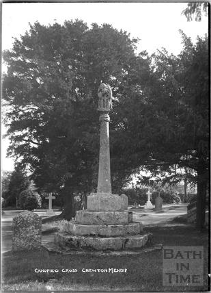Canopied Cross, churchyard, Chewton Mendip c.1930s