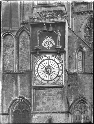 The Great Clock, Wells Cathedral c.1930s