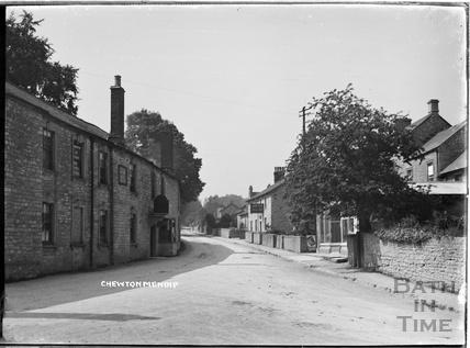 Street scene, Chewton Mendip c.1930s