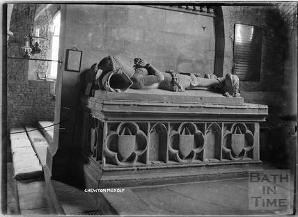 Memorial inside Chewton Mendip Church c.1930s