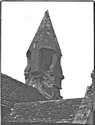 Turret of St Mary the Virgin, Boxwell Church, Glos, c.1930s