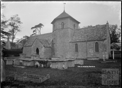 Ozleworth Church, Gloucestershire c.1930s