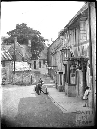 Tearooms, Northleach, Glos, c.1930s