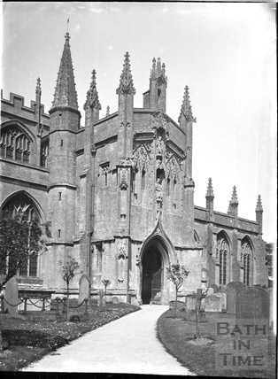 Church of St Peter and St Paul, Northleach, Glos c.1930s
