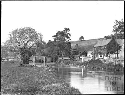 The Swan Hotel, Bibury, c.1930s