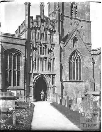 Burford church, Oxfordshire, c.1930s