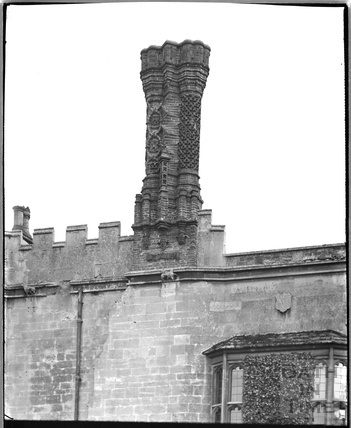 Chimney, Thornbury Castle, , South Gloucestershire, c.1930s