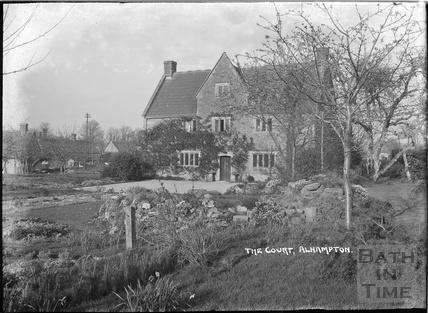 The court, Alhampton, Ditcheat near Shepton Mallett, Somerset c.1936