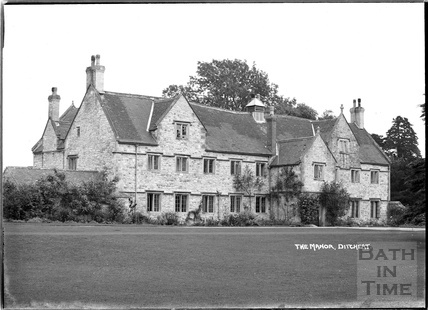 The Manor, Ditcheat near Shepton Mallett, Somerset c.1936