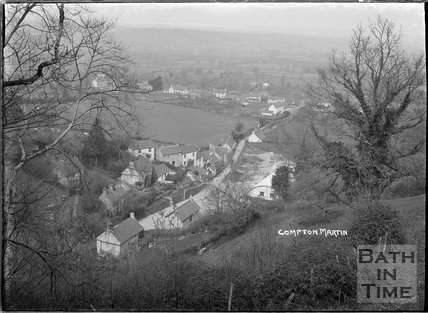 View of Compton Martin, Chew Valley, Somerset c.1930s