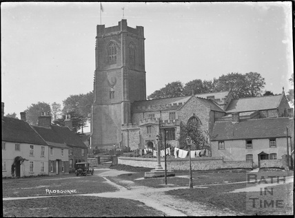 The church of St Michael, Aldbourne near Marlborough, Wilts c.1920s