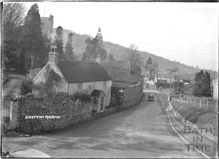 Street Scene, Compton Martin, Chew Valley, Somerset c.1930s