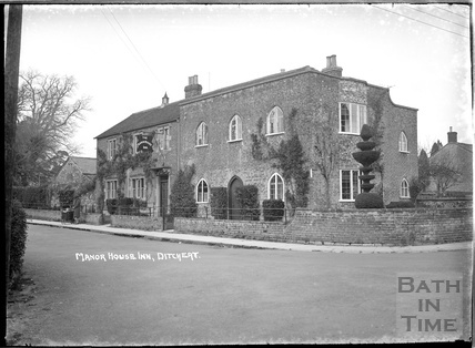 The Manor House Inn, Ditcheat near Shepton Mallett, Somerset c.1936