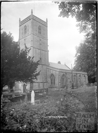 St Michael's Church, Compton Martin, Chew Valley, Somerset c.1930s