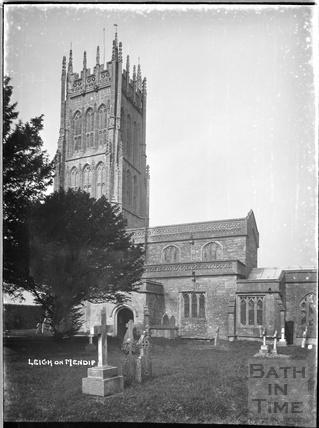 St Giles's Church, Leigh on Mendip, Somerset c.1920s