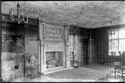 Drawing Room, Stockton House, Wiltshire, c.1930s