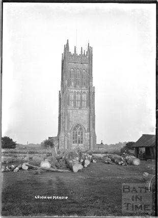 St Giles's Church, Leigh on Mendip, Somerset c.1920s