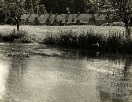 The River Coln at Bibury, 1952