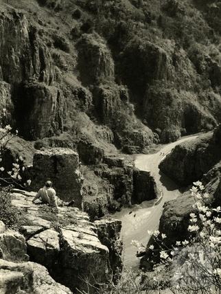 Cheddar Gorge, Somerset, 1950s