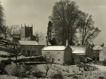 Winter at Englishcombe, late 1950s