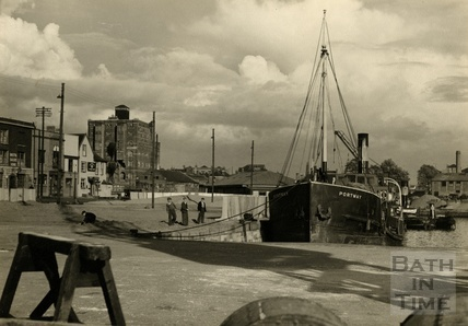 The Port at Bristol, 1950s
