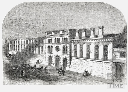 The New Premises of Messrs Stothert and Pitt, Lower Bristol Road, Bath 1860