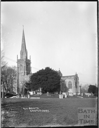 All Saints Church, Castle Cary, Somerset, 1935