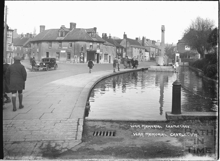 War Memorial, Castle Cary, Somerset, 1935