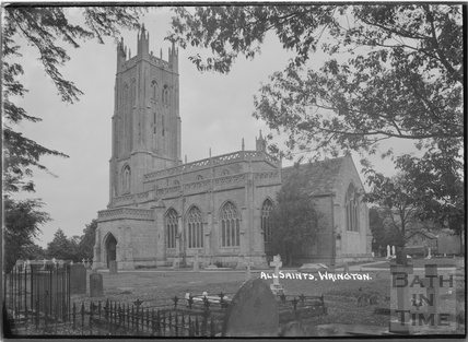 All Saint's church, Wrington, North Somerset, c.1935