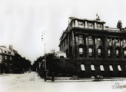 The north west corner of Queen Square, and Queens Parade c.1890s